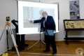 Встреча с первым ректором ПГУ Эрнстом Михайловичем Бабенко в Краеведческом музее Полоцка